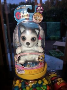 Little Live OMG Pets Squishy Puppy Dog that Cries and Eats - Husky