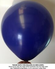 "10/100/500 NAVY BLUE 11"" Latex Balloons Plain Helium or Air Belbal Balloon Party"