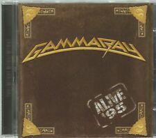 GAMMA RAY  -  ALIVE '95.   /   IMPORT.   KAI HANSEN.  GREAT LIVE CONCERT.