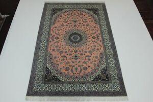 Naini Fine 1,0 Mio, Kn / Qm with Silk Persian Carpet Oriental Rug 3,10 X 2.04