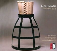 Geminiani: Sonatas Op. 4, New Music