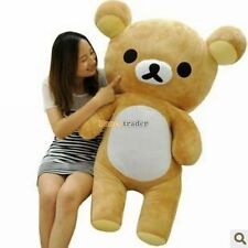 Rilakkuma Stuffed Animal Plush Big Bear Brown Relax Giant Kawaii 44inch kid gift