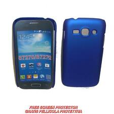 Pellicola+custodia BACK COVER RIGIDA BLU per Samsung Galaxy Ace 3 S7270 S7272