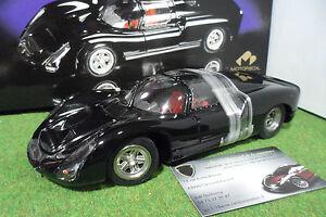 PORSCHE 910 de 1967 street noir black au 1/18 d EXOTO MOTORBOX MTB 00064 voiture