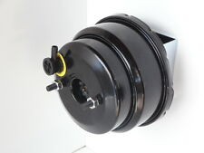 HOT ROD POWER BRAKE BOOSTER 7 INCH DUAL DIAPHRAGM BLACK POWDER COATED