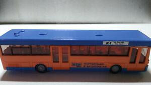 autocar HO WIKING 614 w-barmen