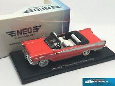 Mercury Parklane Convertible 1959 Red/White NEO46095  1:43