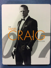 James Bond Daniel Craig Collection - Ltd Edition Steelbook [Blu-ray] AS IS! (a)