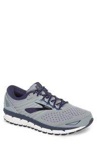 Brooks Beast '18 Shoe Grey/Navy/White 1102824E015, Men's Size 12 (4E) EXTRA WIDE