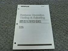 Cat Caterpillar 3306 Engine System Operation Testing Shop Service Repair Manual