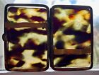 'Faux' Antique Tortoise Shell Card or Cigarette Case, Germany Bit Shabby
