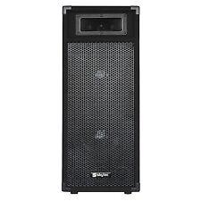 """Skytec Speaker Sm28 Twin 8"""" Woofer PA Mobile DJ Disco Party Loudspeaker 500w"""