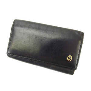 Cartier Key holder Key case Black Woman Authentic Used Y1706
