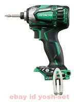 Hitachi Koki 18V cordless impact driver WH18DDL2 green body only From Japan