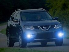 Bling Lights Angel Eye Fog Lights Lamps for 2014 2015 2016 Nissan Rogue