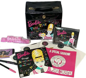 BARBIE TUNE TOTE 1997 Bandstand NBDC CONVENTION EXCLUSIVE Records & Nifty Gifty!