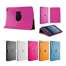 360 Grad Drehbar Case iPad mini 1 2 3 Aufstellbar Schutz Hülle Cover Schale Pink