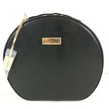 Lancome Makeup Bag Cosmetic Box Case Round Travel Tote Toiletry Large