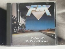 FM - TAKIN' IT TO THE STREETS CD LIKE NEW AOR MFN 119 MUSIC FOR NATIONS ORIGINAL