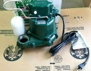 """Zoeller 50 Series 1/3 HP Cast Iron Submersible Sump Pump.  """"FREE SHIPPING"""""""