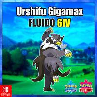 Urshifu Fluido Gigamax 6 IV Pokémon Espada y Escudo Isla armadura