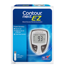 Contour Next EZ Blood Glucose Monitoring System and 10 Test Strips Great $$