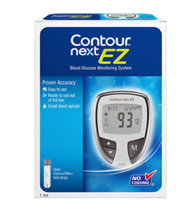 Contour Next Blood Glucose Monitoring System and 10 Test Strips$
