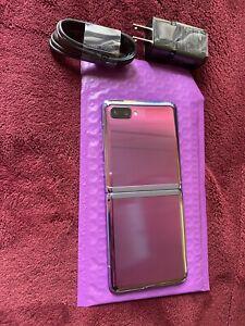 Samsung Galaxy Z Flip SM-F700U1/DS - 256GB - Mirror Purple  (Unlocked)