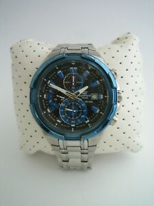 CASIO EDIFICE WATCH EFR-539D-1A2VUEF CHRONOGRAPH STAINLESS STEEL GENUINE
