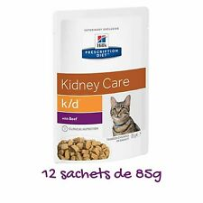 Hill ́s prescription feline diet k/d, fresh bag with beef