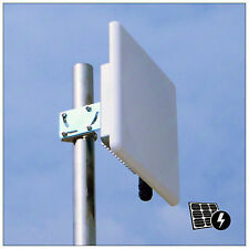 Pluto_R2418M 300Mbps 2.4G Wireless Outdoor Access Point POE 2*18dBi Mimo Antenna