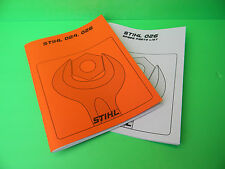 stihl outdoor power equipment manuals guides for sale ebay