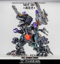 Perfect  NEW Master Made SDT-02 Diabolus rex Q version toys In Stock !