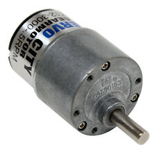 3 RPM 3-12V Gearmotor (Max Torque: 1,102 oz-in) 1000:1 gear ratio #638158
