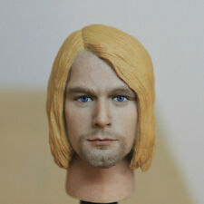 HOT FIGURE TOYS 1/6  HEADPLAY Kurt Cobain headcarving famous rock singer
