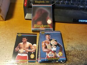 1991 WBA Ringlords 40 Card Complete Factory Boxing Card Set w/ Box Muhammad Ali