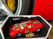 Bburago 1/18 Scale Diecast 3027 Ferrari GTO 1984 #40 Race Car in Red