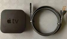 Apple TV (2nd Gen) 8GB Media Streamer model A1378 W/ Power Cord -No Remote