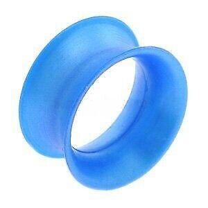 Kaos Silicone Skin Eyelet - Cobalt Blue Pearl - 8mm