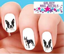 Waterslide Dog Nail Decals - Set of 20 Boston Terrier Assorted