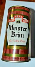 Vintage Meister Brau Flat Top Beer Can Mint Condition