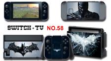 Nintendo Switch Console Joy-Con Skin Sticker Cover #58 Batman a AN11