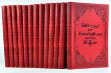 Bibliothèque D. divertissement et D. connaissance 1925