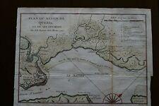 Plan du Bassin de Quebec et de ses environs a 1744 from Charlevoix s