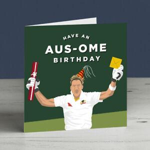 Steve Smith Australia Cricket Birthday Card