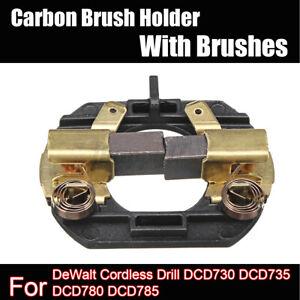 Carbon Brush + Holder For DeWalt Cordless Drill DCD730 DCD735 DCD780 DCD785