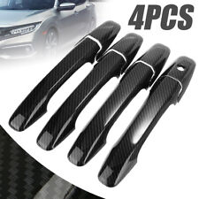 Carbon Fiber Style Handle Cover Trim for Honda Civic 2006-2011 2008 2010