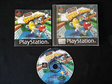 M&M's Shell Shocked Sony PS1 PS2 PS3 VERY RARE PLATFORM GAME! COMPLETE!