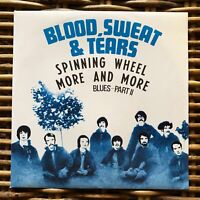 "BLOOD SWEAT & TEARS Spinning Wheel Peace and Love promo 7"" 45 giri vinyl"