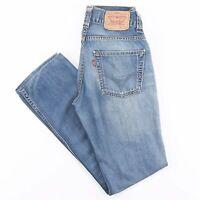 LEVI'S 511 Slim Straight Fit Mens Blue Jeans W31 L31